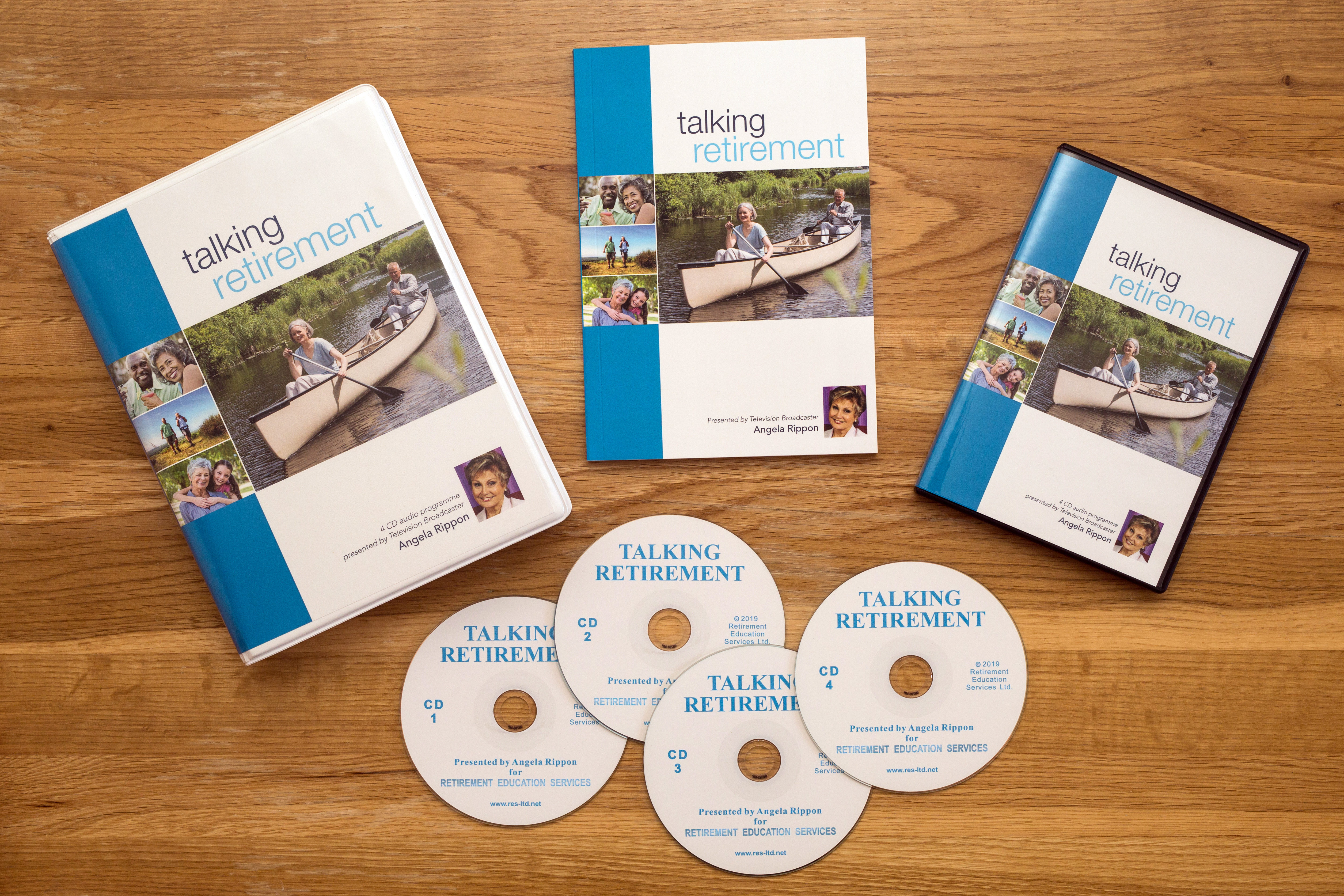 Talking Retirement CD audio package